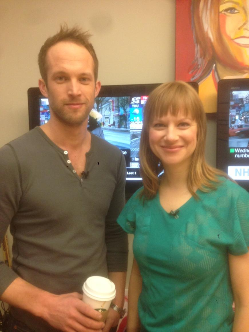 """Mirvish Productions on Twitter: """"Our 'guy' & 'girl' from #OnceTO ..."""