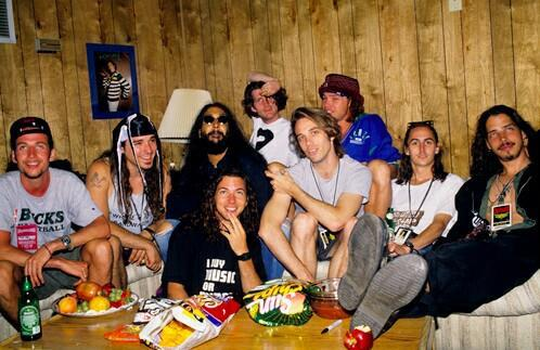 .@PearlJam and @Soundgarden. @Lollapalooza 1992. http://t.co/Qmvd4nU5eD