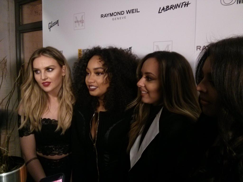 Ahh @LittleMix have been teasing us about their new music! So excited! #LittleMix http://t.co/MvpkuwhtcI