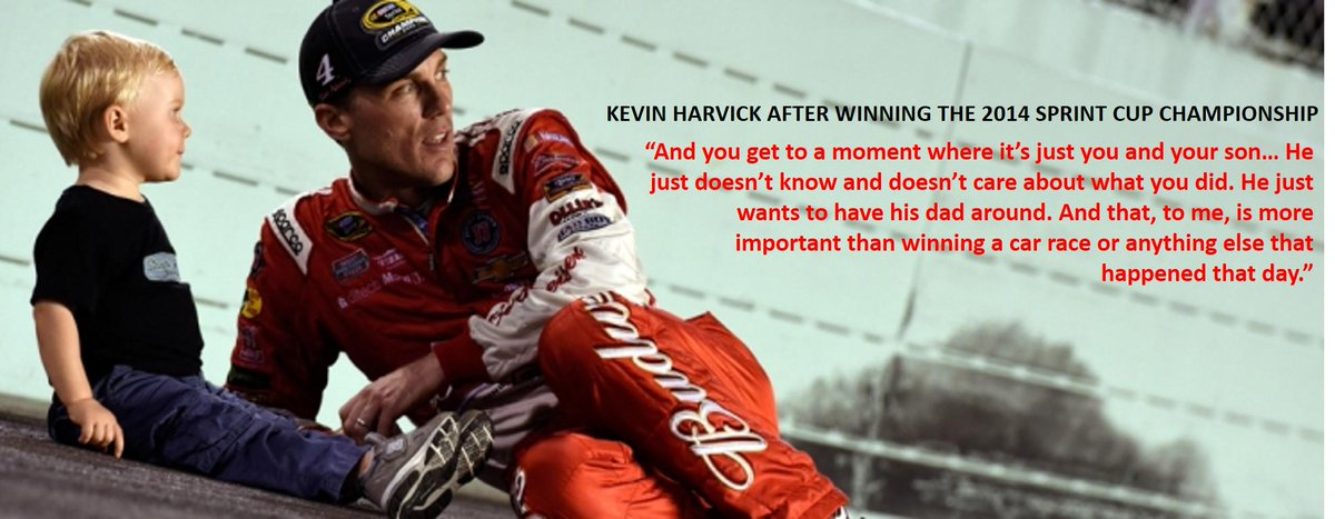 .@KevinHarvick & @DeLanaHarvick's favorite moment from winning the Sprint Cup - http://t.co/J61BMS0ZW8  #FamilyFirst http://t.co/StY1CeBTrx