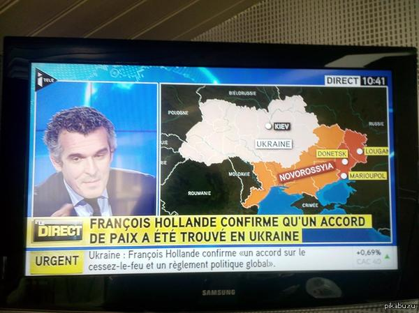Украина волнуется - раз
