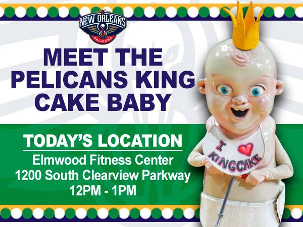 New Orleans Pelicans On Twitter King Cake Baby Wants To