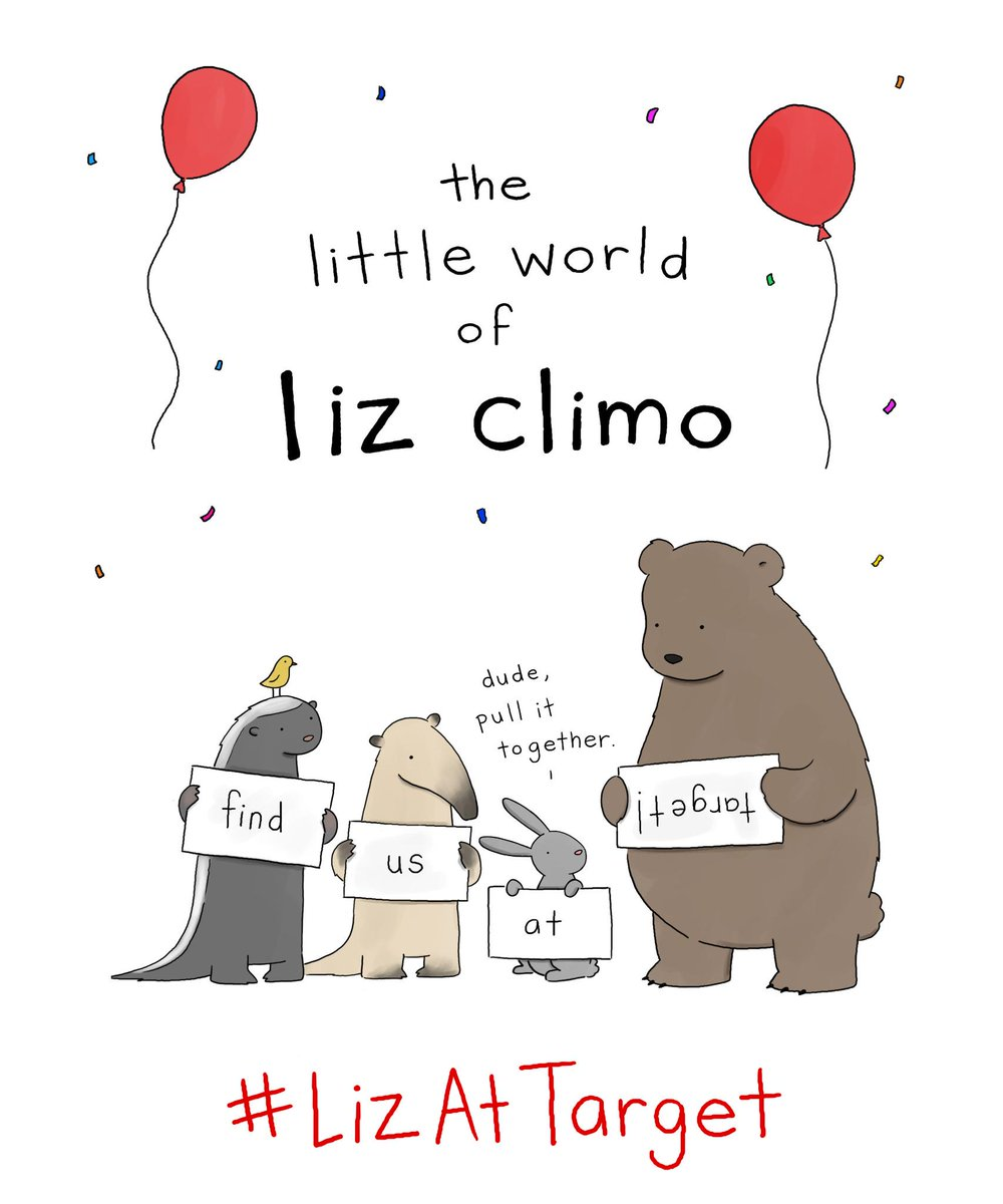 "liz climo on twitter ""greeting cards available at select target, Birthday card"