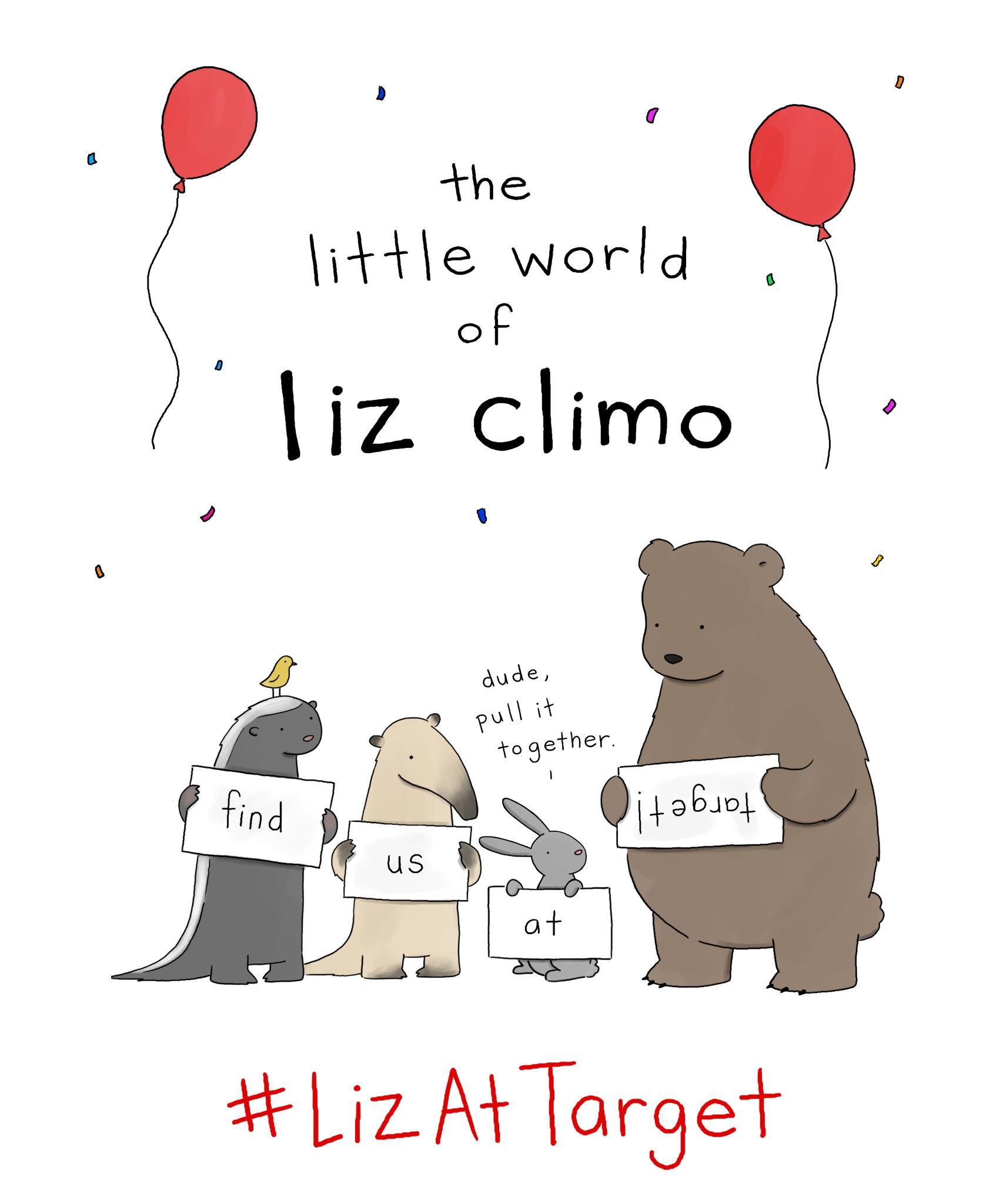 Liz Climo on Twitter Greeting cards available at select Target – Target Birthday Cards
