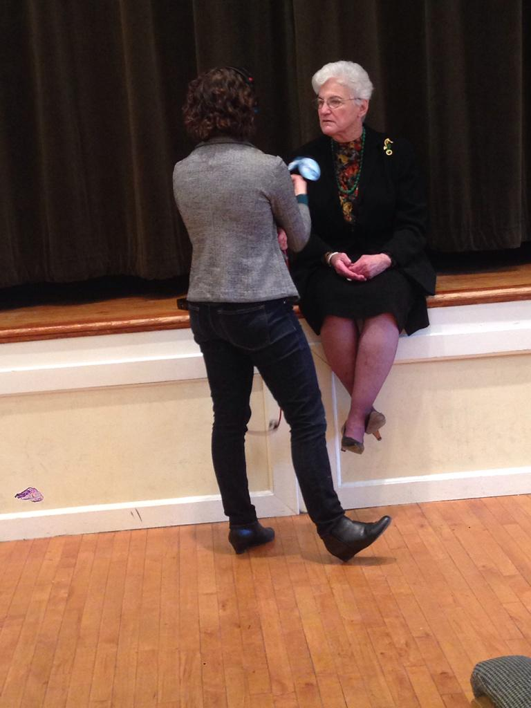 Post-forum @LynneForMayor gets interviewed by @whyy http://t.co/HS5uANi9UV