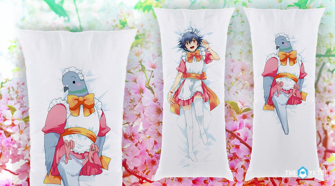 Hatoful Boyfriend Pillowcase facts: It's a pillowcase, 1.5 meters long, also real/purchasable! http://t.co/6IREUv8HGA http://t.co/Ek6WZMlFLE