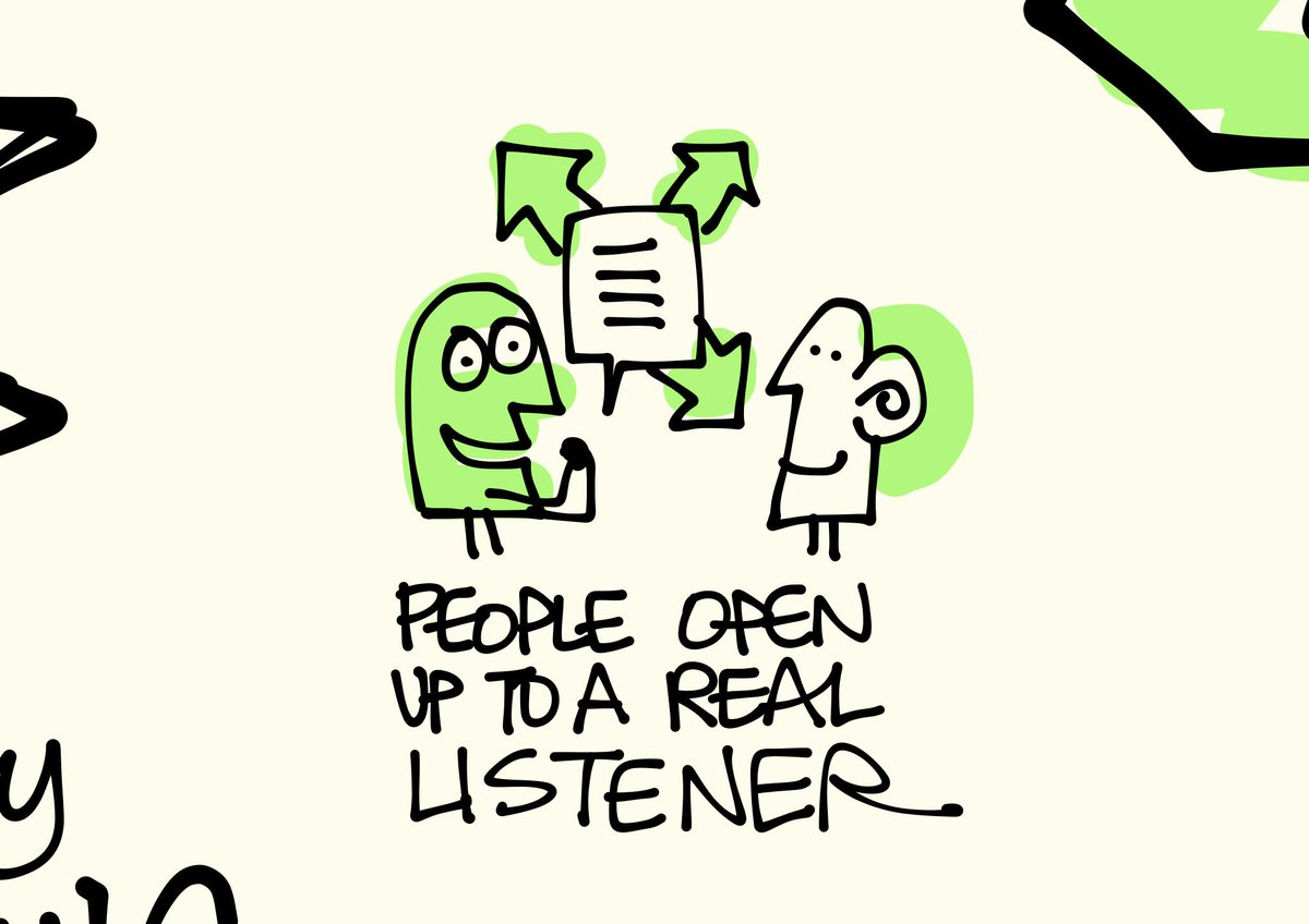 People open up to a real listener. #ixd15 #favoritemoments #sketchnotes @indiyoung http://t.co/BSlR4b4ZcG