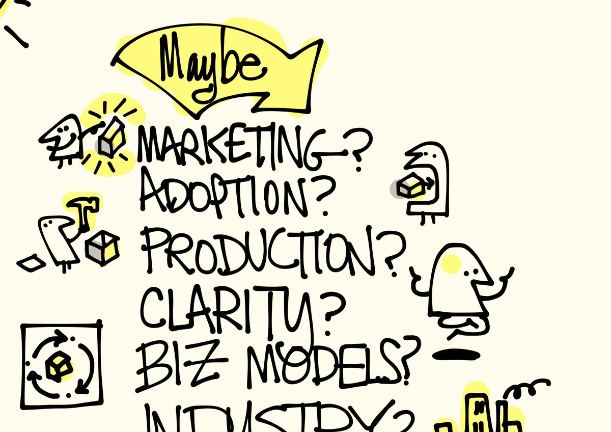 Maybe learn marketing, adoption, production, or just clarity? #ixd15 #favoritemoments #sketchnotes @billder http://t.co/i9ws6oe3Yq