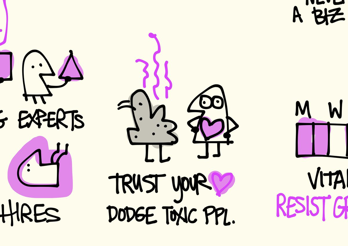 Trust your heart, dodge toxic people. #ixd15 #favoritemoments #sketchnotes @SlicedBreadUX (fixt) http://t.co/XKYhpv3Pzt