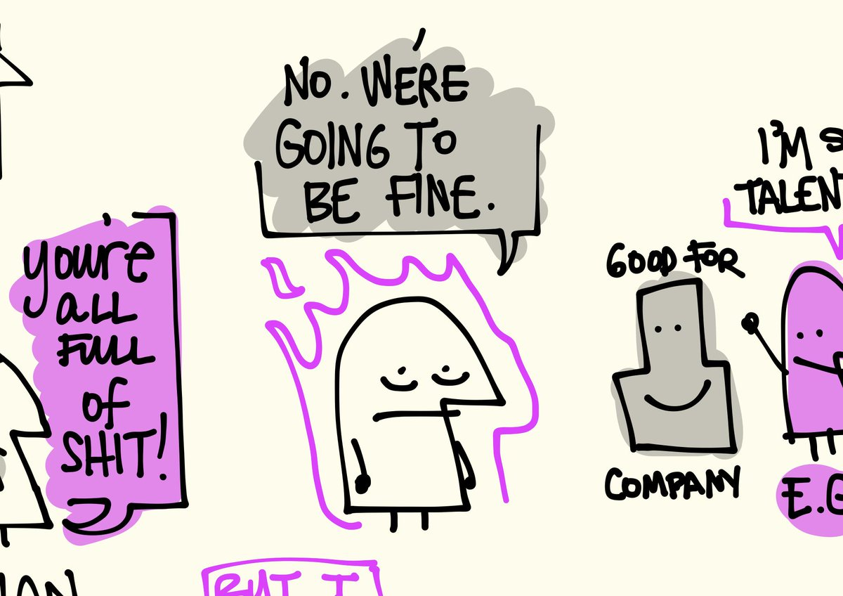 No, we're going to be fine. #ixd15 #favoritemoments #sketchnotes @mgiudice http://t.co/B2mo2KJa7X
