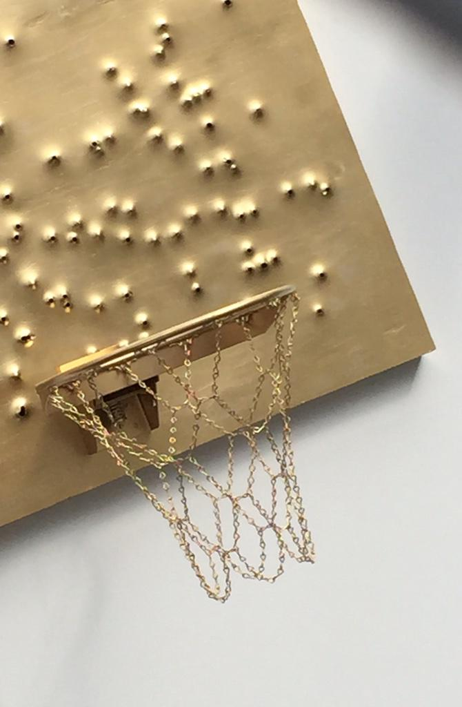 Hoops are just golden. #RaisedInNY Gallery at West 4th Street Courts ('The Cage'). #NewYorkCity #AllStarWeekend @NBA