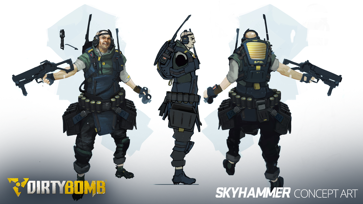 Dirty Bomb On Twitter Skyhammers Concept Art Which Look Do You