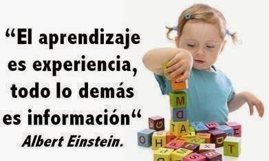 El aprendizaje es experiencia http://t.co/QKCMy8BZFR