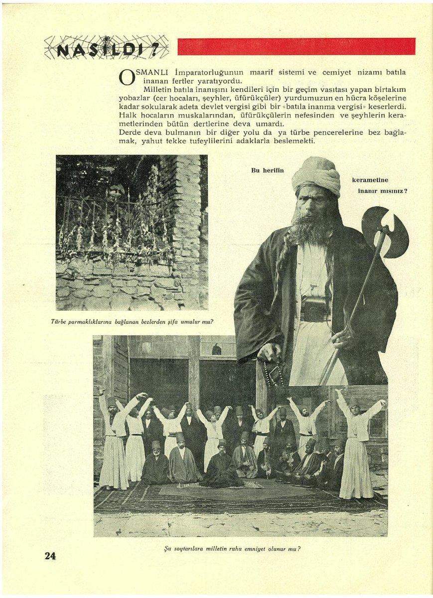 """UTANÇ VESİKALARI 6 Mevlevilere """"Şu soytarılara milletin ruhu emniyet olunur mu?""""demişler (en alttaki resim) http://t.co/qBybkJE2pc"""