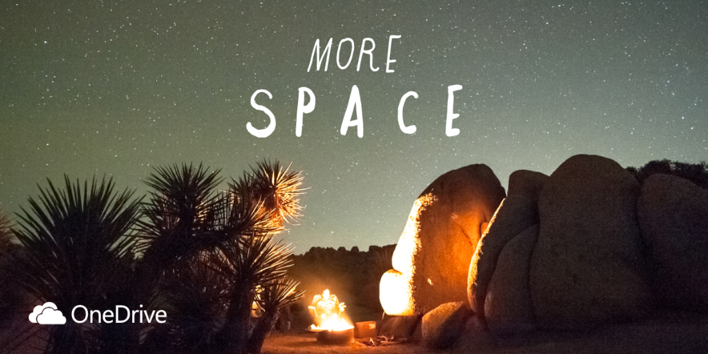 More space is a good thing. Get 100 GB of free storage for two years by joining @BingRewards. http://t.co/fXFBtM2EM9 http://t.co/kEVgkRb6OB