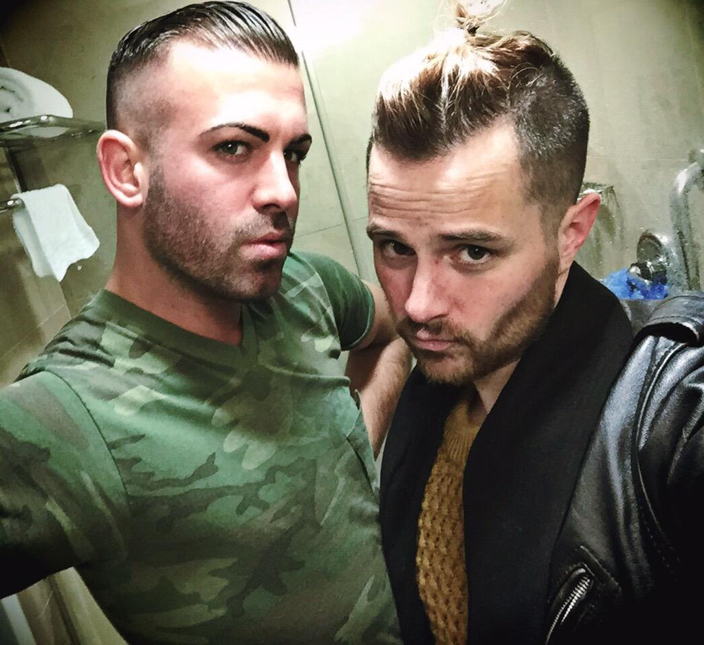 And FACE. #Pecks #Ponytails & a #Pout @JMcKinleyNYC #NYFW http://t.co/YHoVzsF6IG