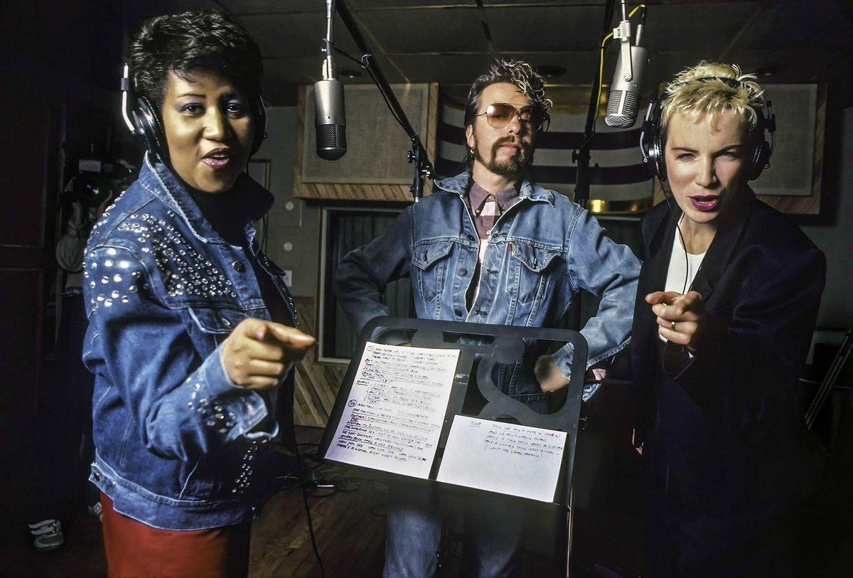 #tbt #ArethaSings RT @DaveStewart now those were fun times :)with Aretha Franklin Annie Lennox fb.me/78HXnTB6c