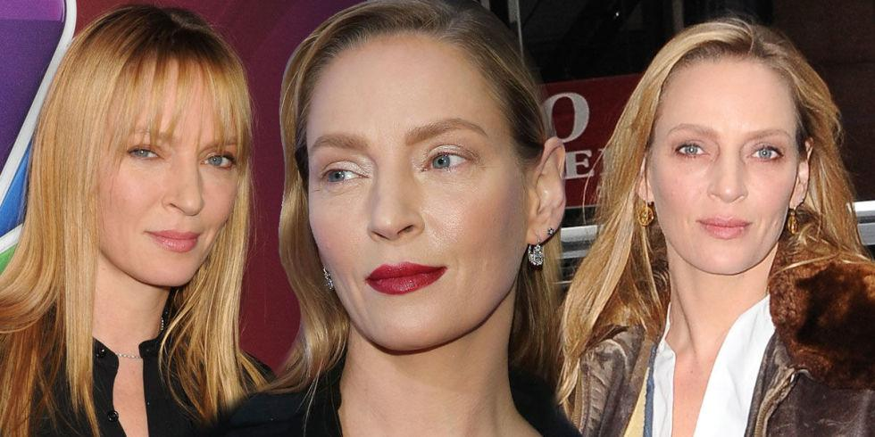 Il Make-Up transformista di Uma Thurman
