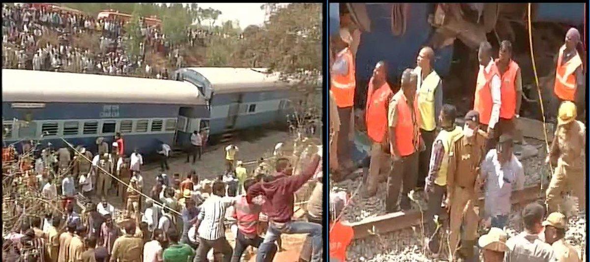 Incidente ferroviario in India: deraglia il Bangalore Ernakulam Intercity Express