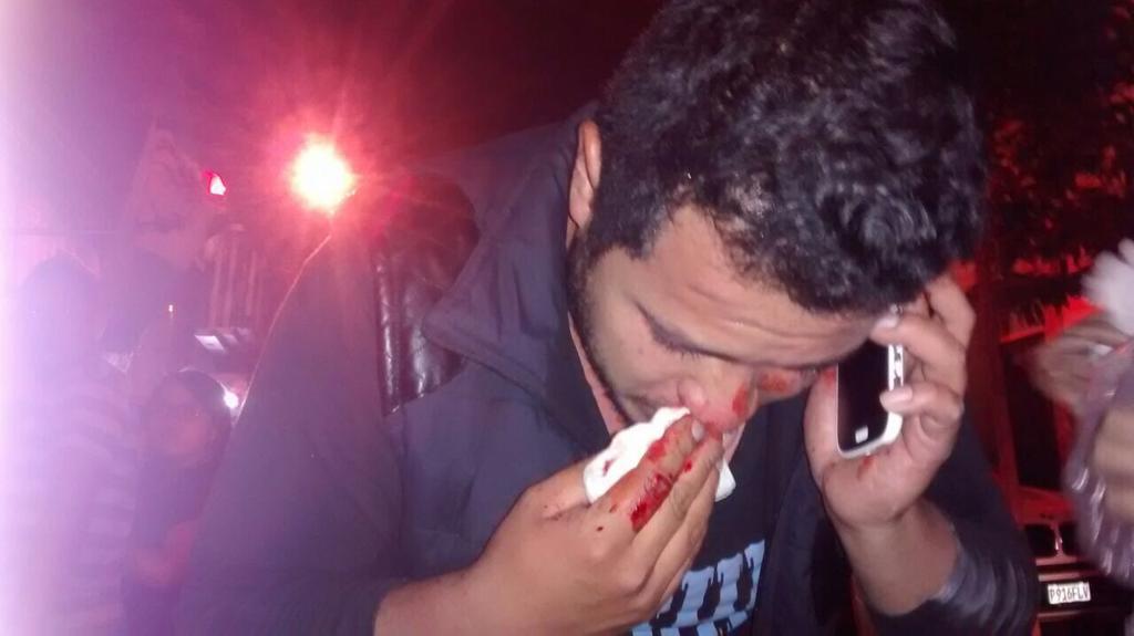 Solo se quiere informar y es condenable esa agresión en contra de @juanVictorCas1  mi solidaridad y aquí no hay color http://t.co/6VXtRtQV9Q