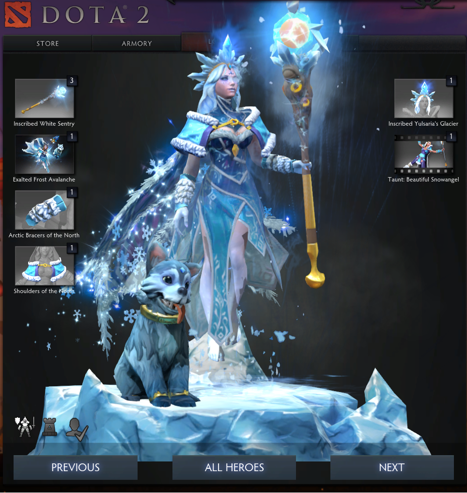 "Team RΛZΞR on Twitter: ""Just set up my @DOTA2 Crystal ..."