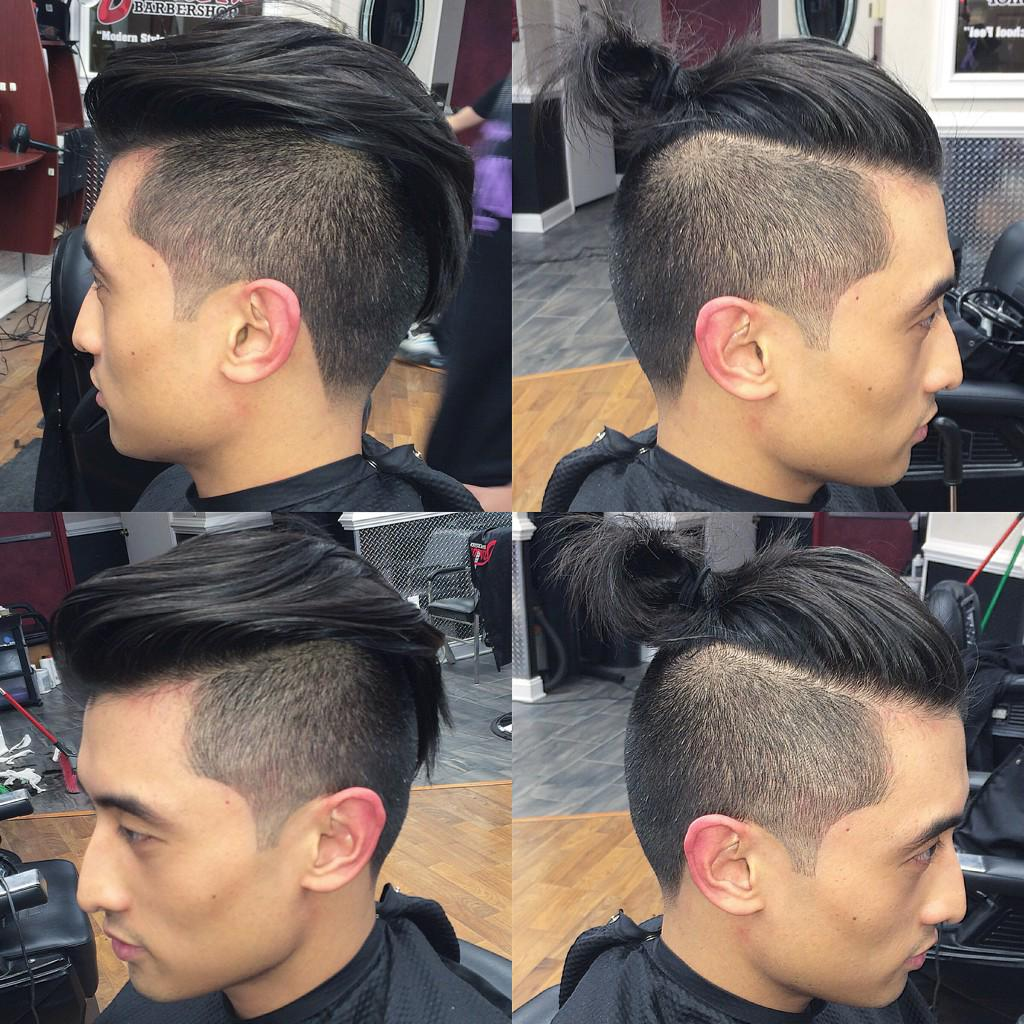 Perfect Reply Retweets Likes With Top Knot Undercut