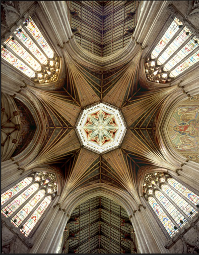693 years ago last night the old central tower of Ely Cathedral collapsed, to be replaced by this. http://t.co/1T1AK3BcCG