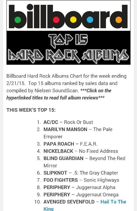Billboard | @A7XES