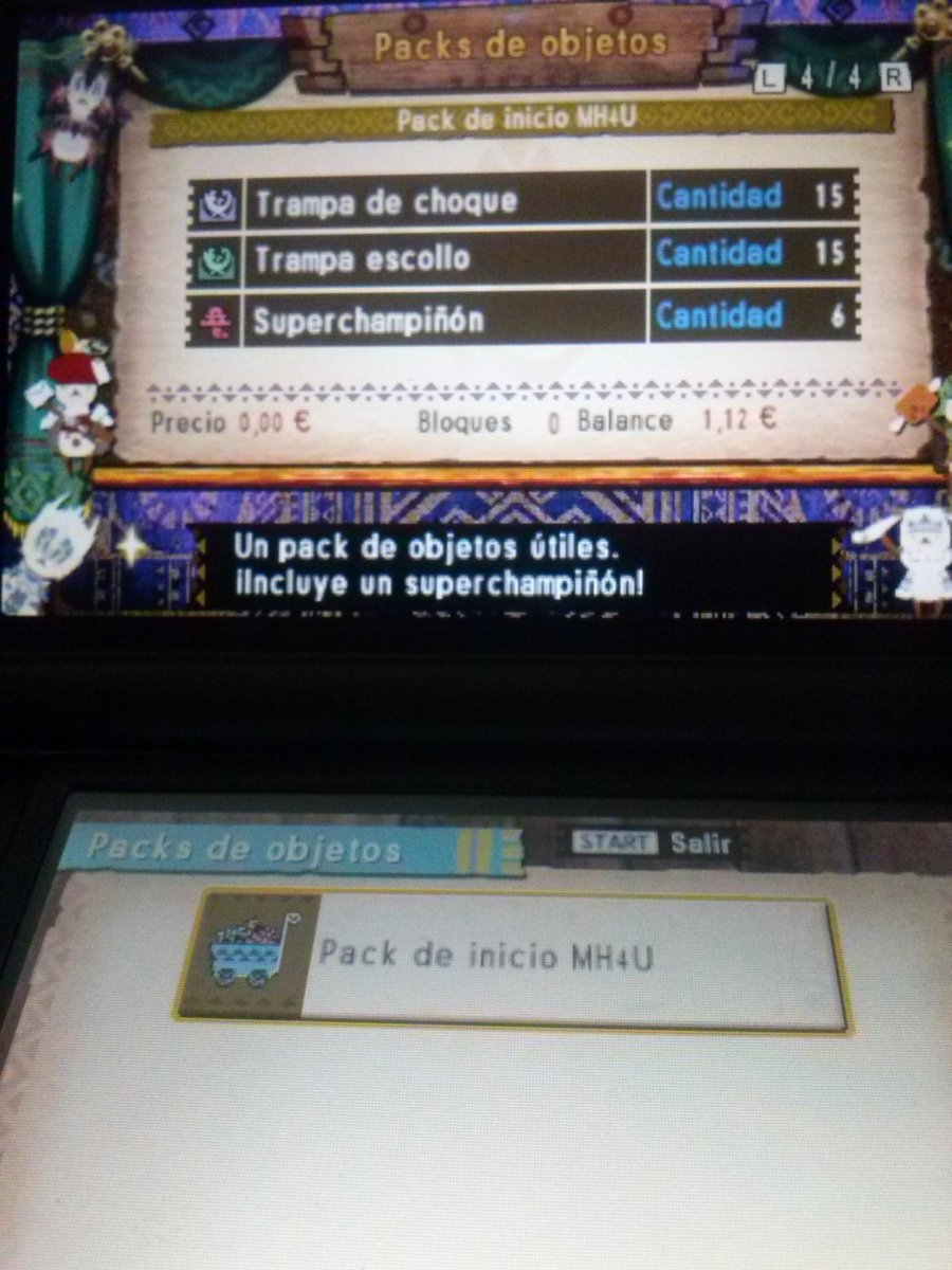 Parche Monster Hunter 4 Ultimate