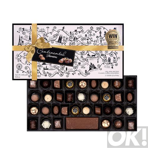 WIN! A Thorntons' Continental box just in time for Valentine's Day! RT for your chance to win one of 10 #OKCOMP