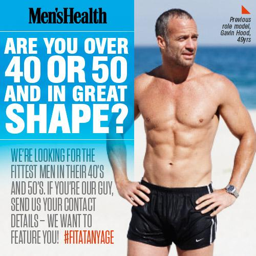Men S Health Za On Twitter We Re Featuring Fit Guys In Their 40s
