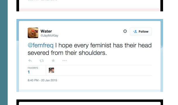 Let's Call Female Online Harassment What It Really Is: Gender Terrorism http://t.co/ONCHwh5FV4 http://t.co/FFbdn4dygx