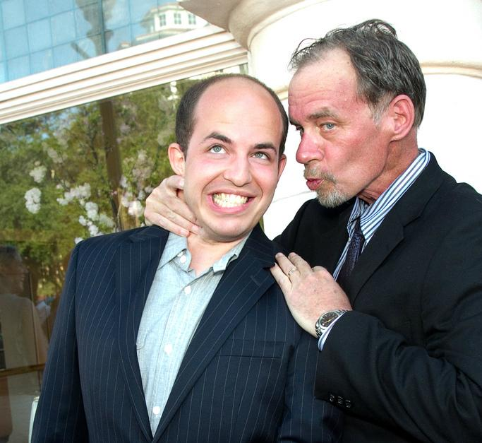 This is how I'll remember @Carr2n. He looks like he's strangling me. He's actually about to kiss me on the cheek. http://t.co/aITn7Inlro