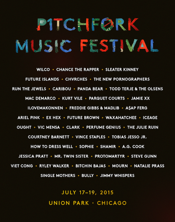 Pitchfork Music Festival Chicago 2015