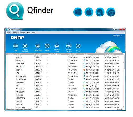 Qfinder hashtag on Twitter