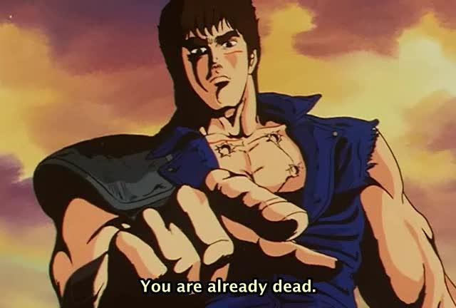 Roses are red, Violets are blue, Omae Wa Mou, Shindeiru http://t.co/uKyskA9DLj