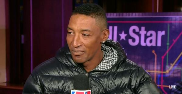 Scottie slowly transforming into Jermaine Jackson http://t.co/rhI0VyvSdq