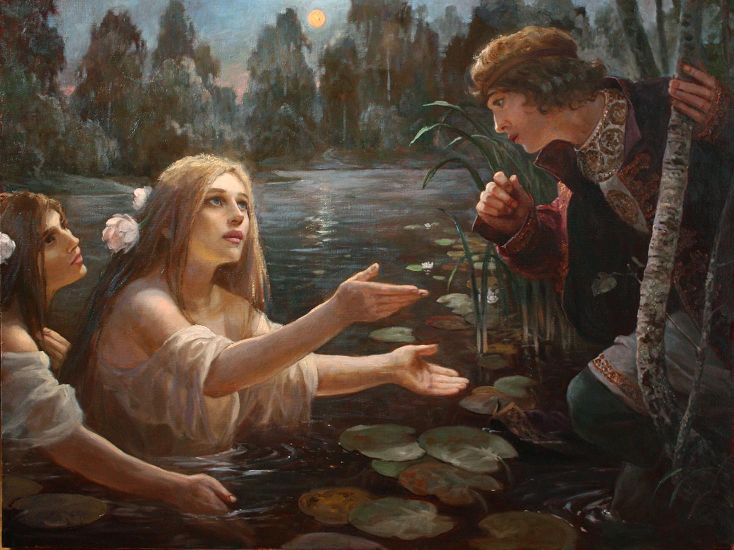 Картинки языческие мотивы