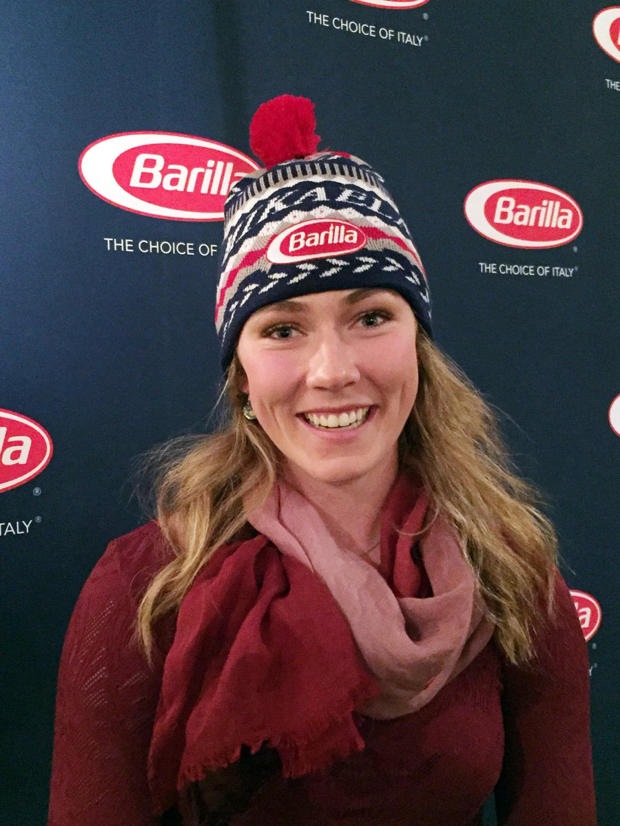 Looking good @mikaelashiffrin! Tweet #MikaelaHatSweeps for a chance to win your own hat. http://t.co/nkSHpRTyao http://t.co/eZ16nA316q