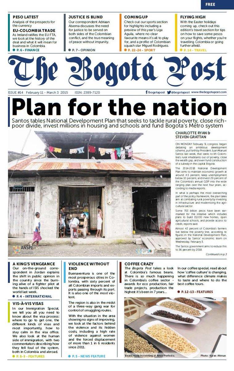 The Bogota Post On Twitter Edition 14