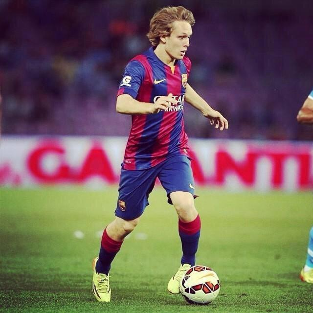 Alen halilovic, only 18 years old and plays at barcelona ...