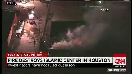 Breaking News: @HoustonChron reports prelim investigation found fire at #Houston Islamic center was intentionally set http://t.co/doShtQWUi3