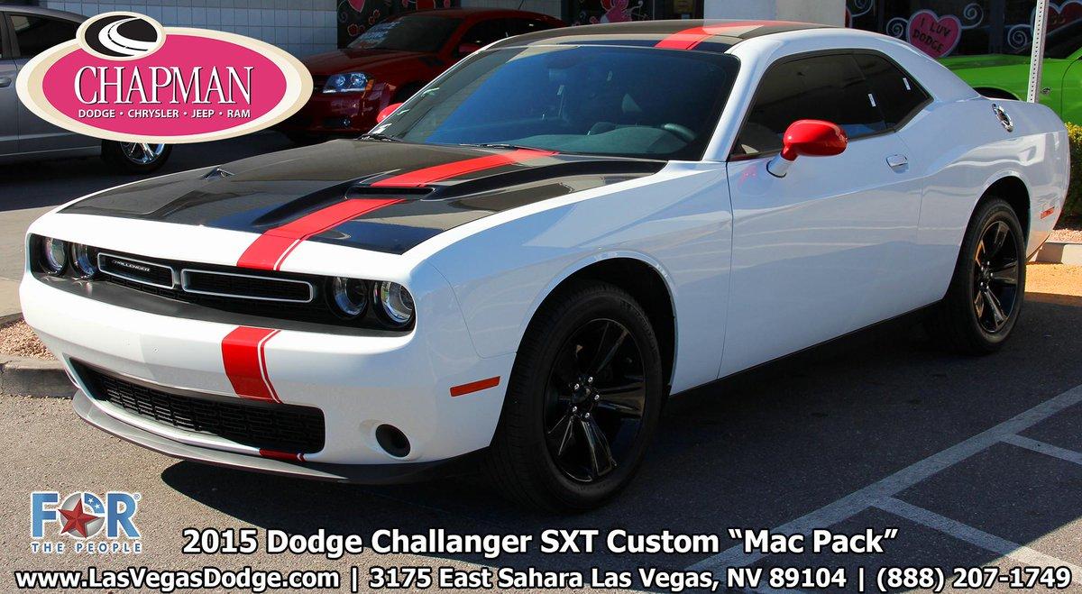 Chapman Dodge Las Vegas >> Chapman Dcj On Twitter Custom Mac Pack On This Dodge