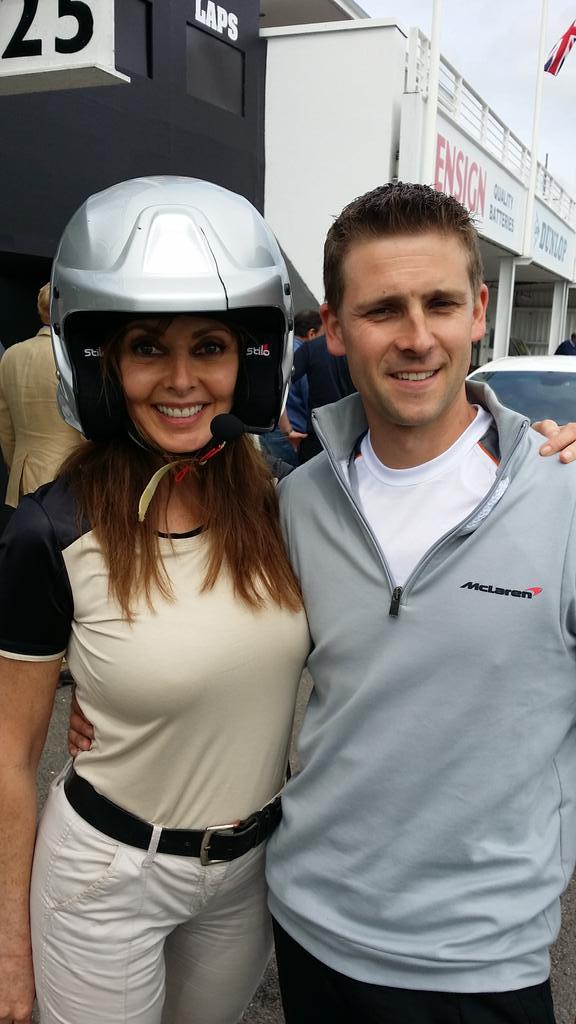 Enjoyed the @McLaren super car too... #goodwood @TraceyGreaves4 x http://t.co/THnLtjbMtr