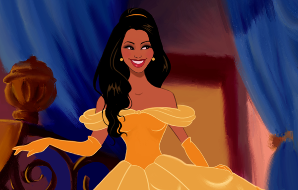 A man had his girlfriend drawn as Disney princesses for the perfect Valentine's gift http://t.co/01CBYE2zqi http://t.co/p8O0PilVgY