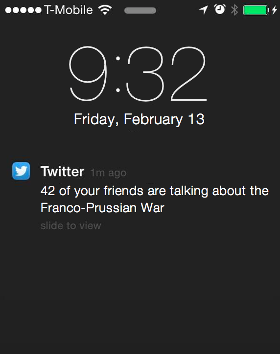 RT @fordm: Okay this Twitter notification bug is getting out of hand http://t.co/sgWSGVPCnE