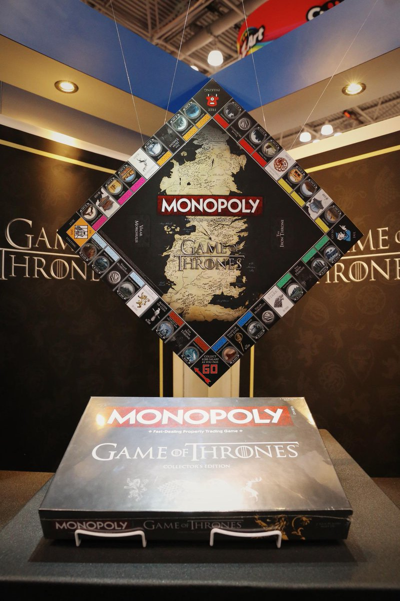 'Game Of Thrones' Monopoly Is Coming