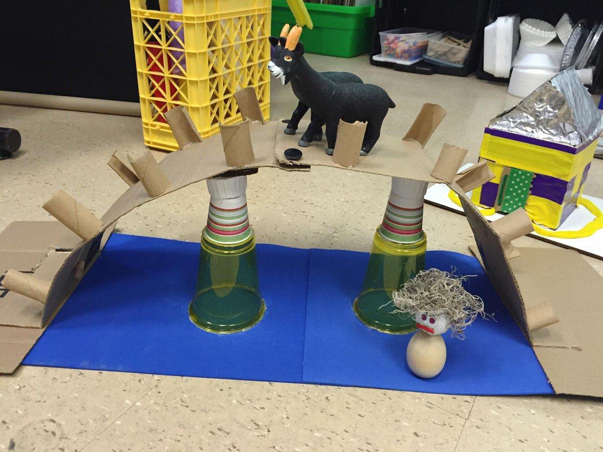 Cate Heroman على تويتر Stem Design Challenge Build A Troll Proof Bridge For The 3 Billy Goats Gruff Lsuprek3 Ece Kkcm Http T Co Mwuguqoqhc
