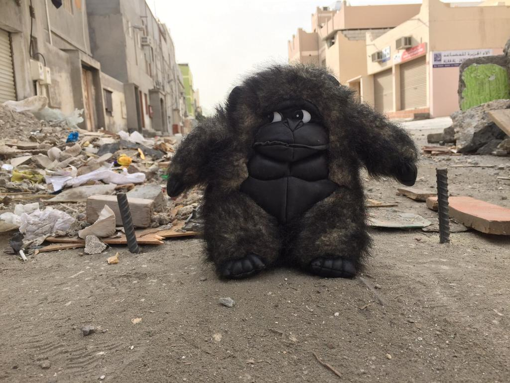 Psychological warfare? The Teddy Bear theory evolves in #Bahrain http://t.co/Fo7UjTh8AQ