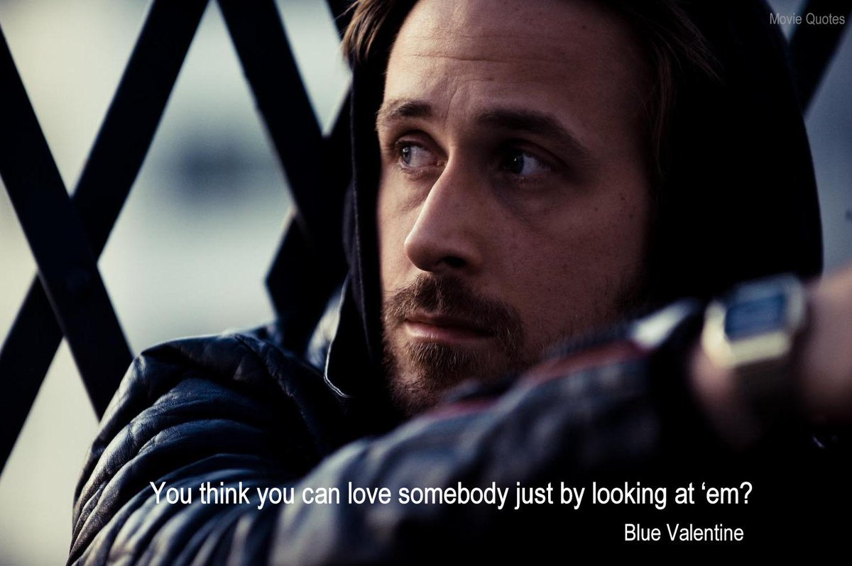 Movie Quotes On Twitter You Think You Can Love Somebody Just By